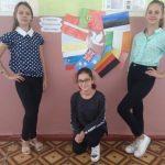 Флешмоб з нагоди Міжнародного дня миру у Тіньківській ЗОШ І-ІІІ ступенів.