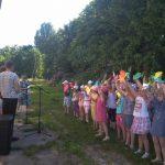 День захисту дітей та відкриття дитячого майданчику